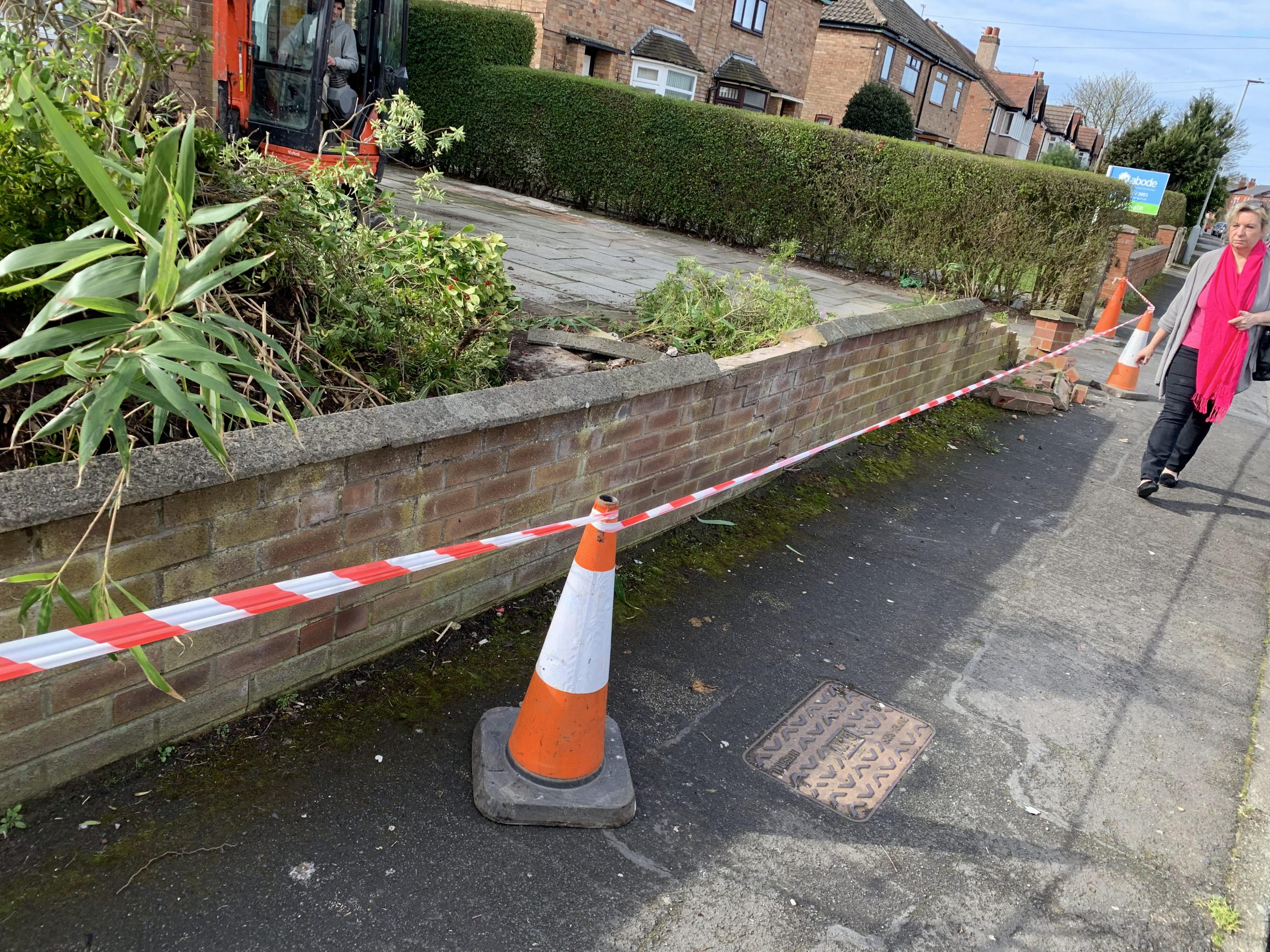 cones to front of my dentist formby