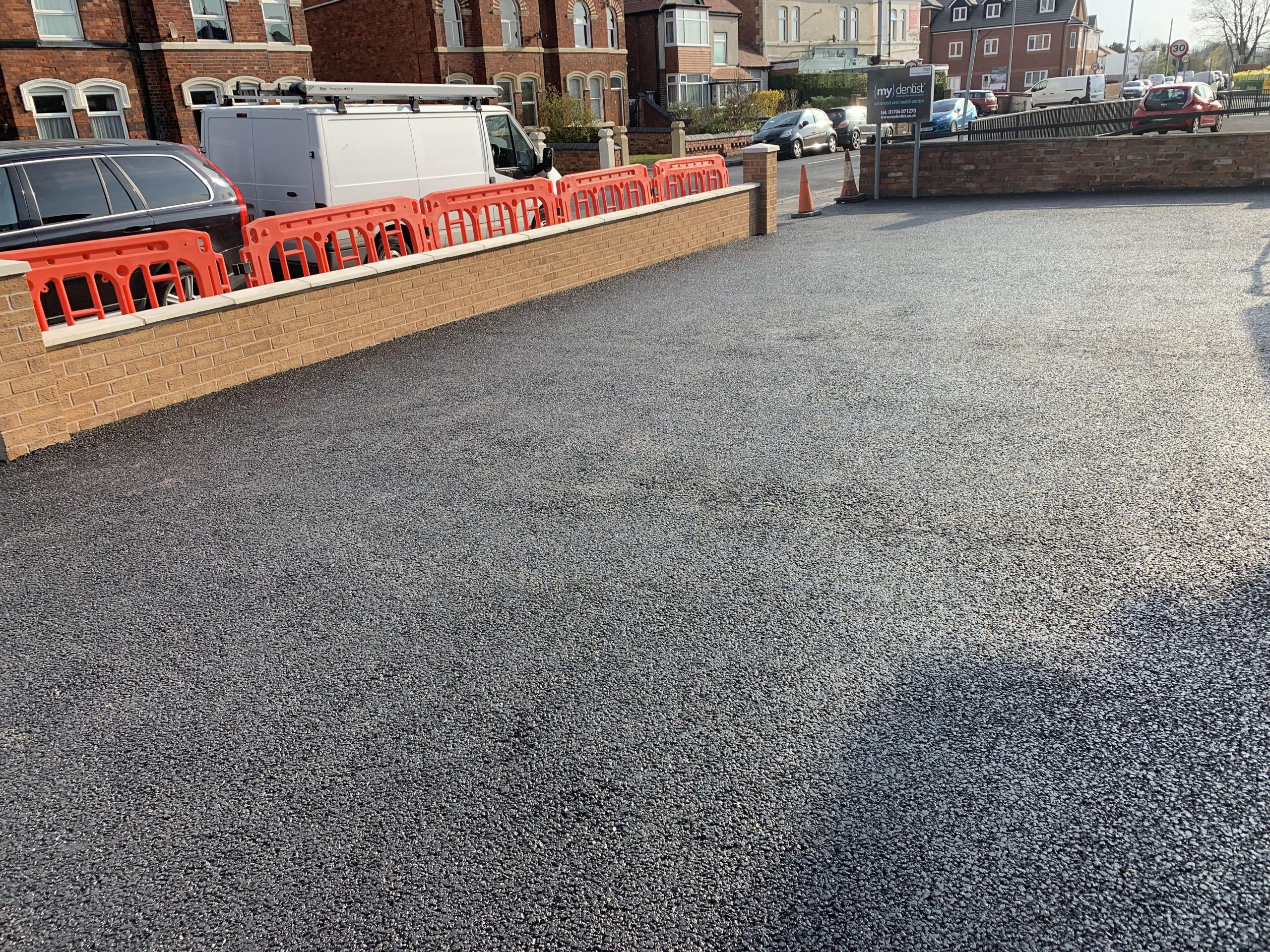 completed car park my dentist formby