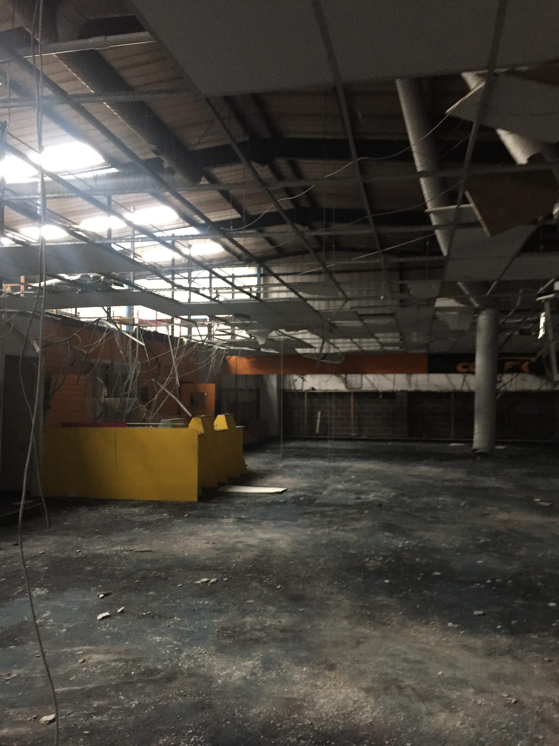 inside old comet store barnsley retail park