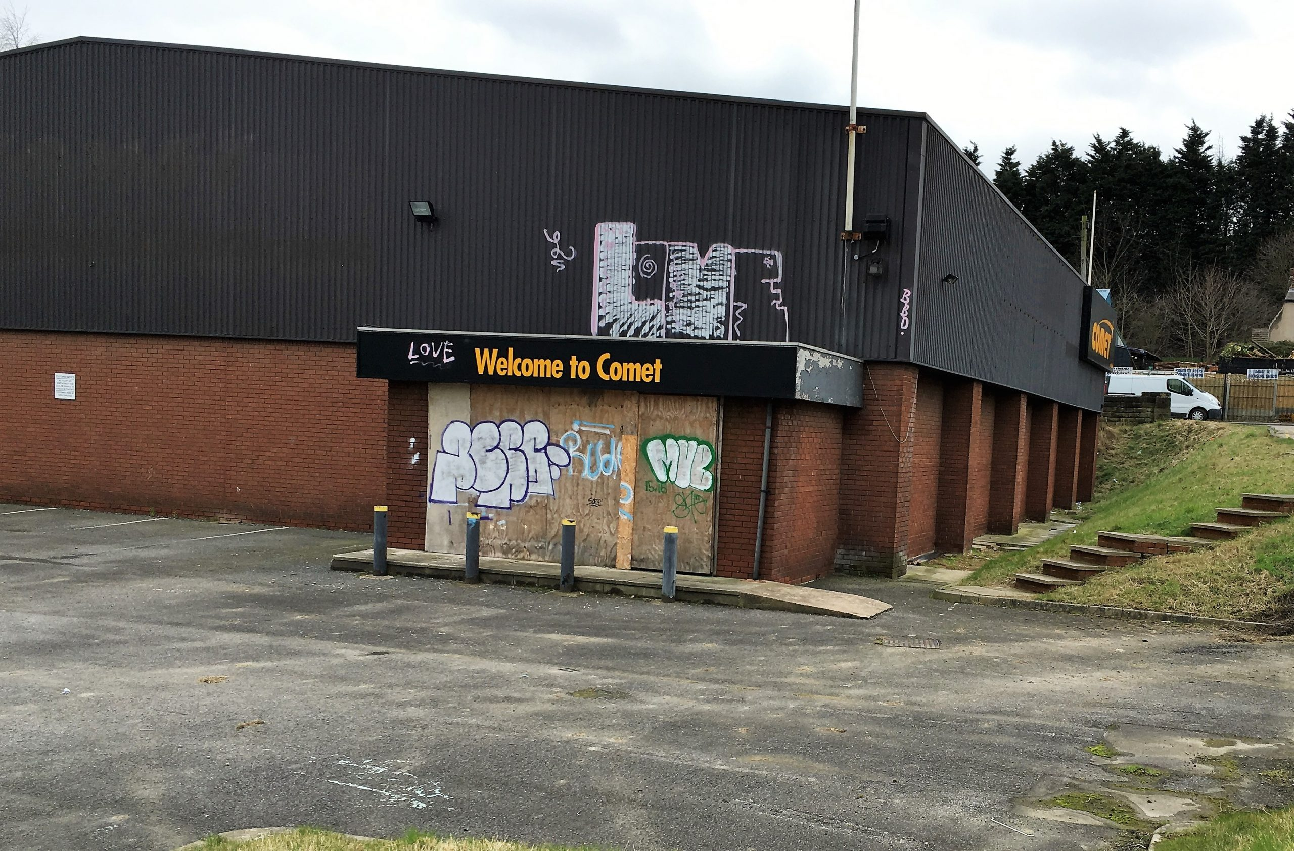 old comet store barnsley retail park