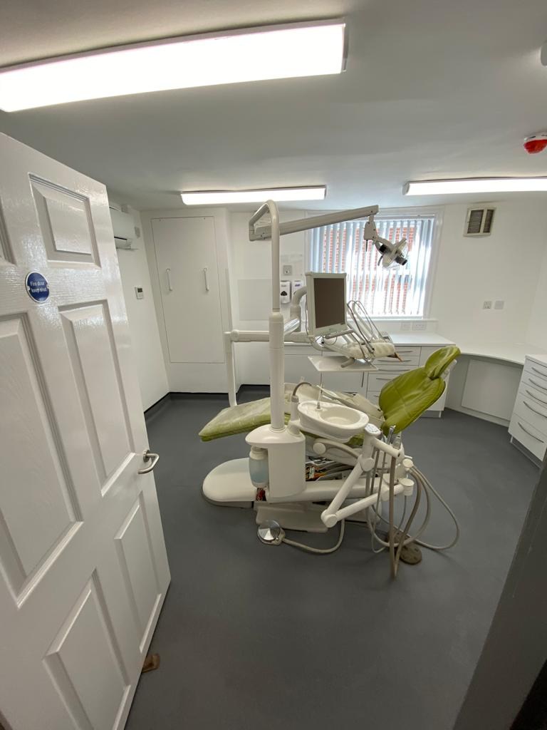 dental surgery build by Freemont Building