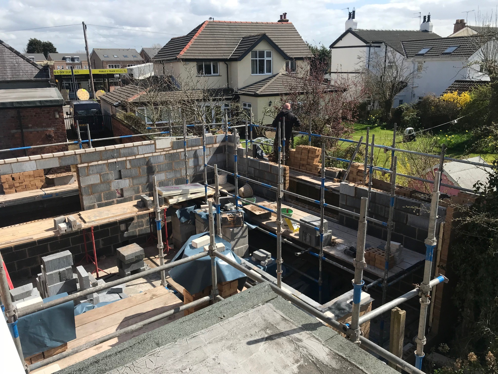 extension scaffolding my dentist formby