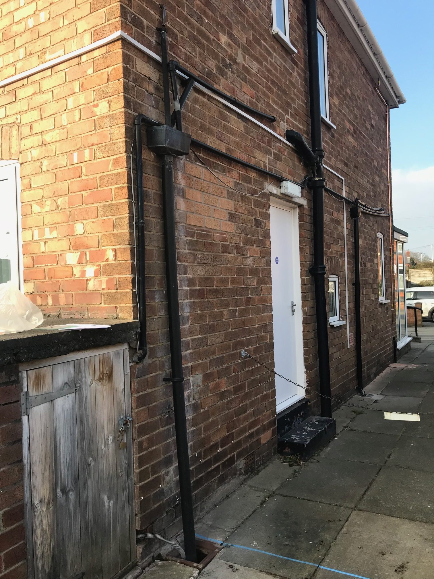 side of old building my dentist formby