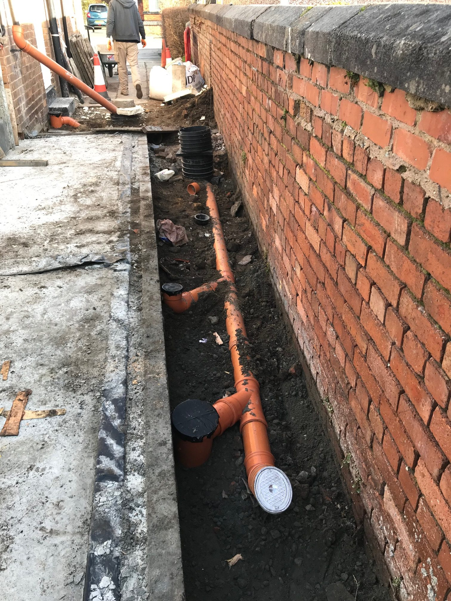 new extension pipework my dentist formby