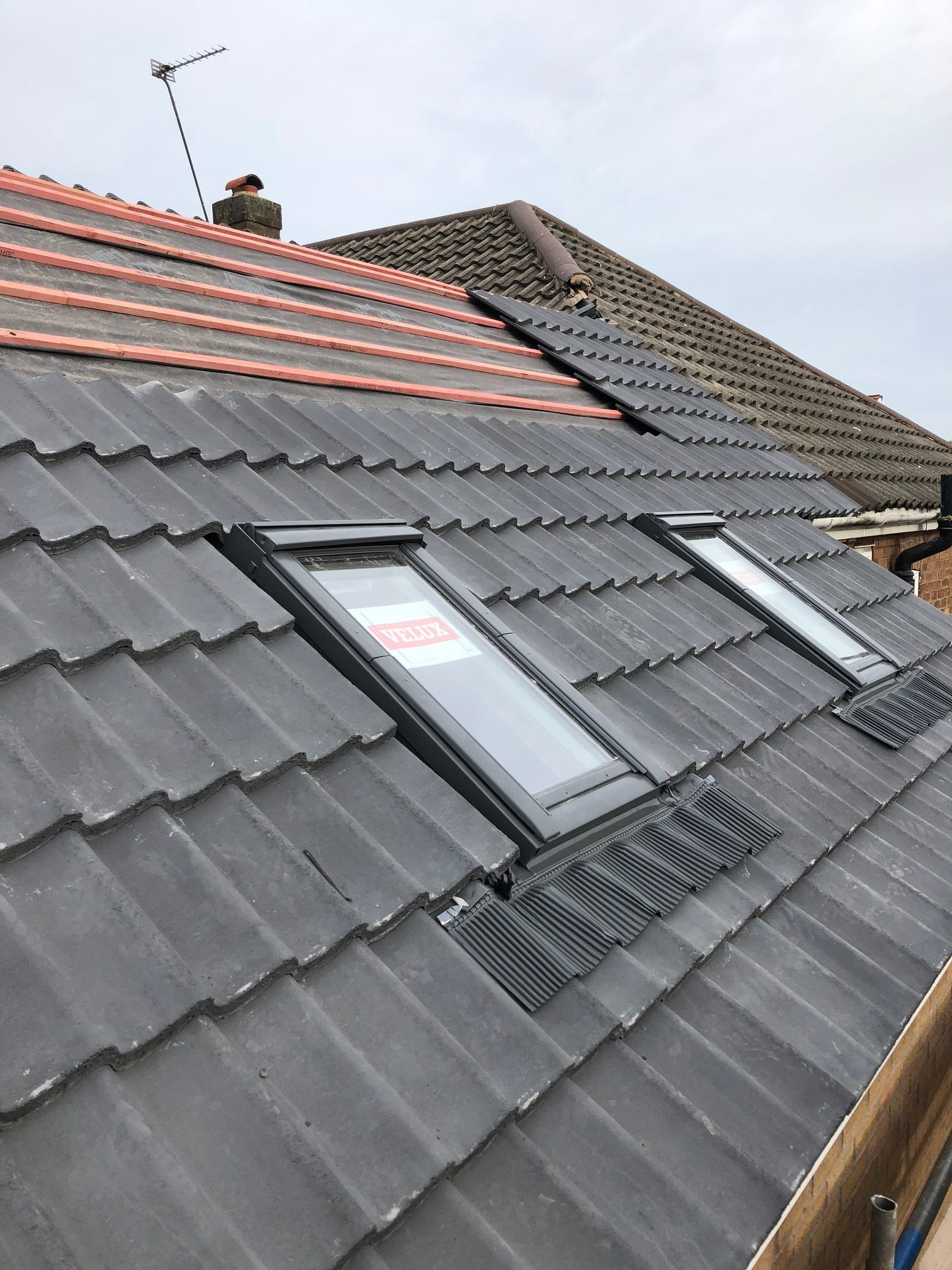 roof slates on extension my dentist formby