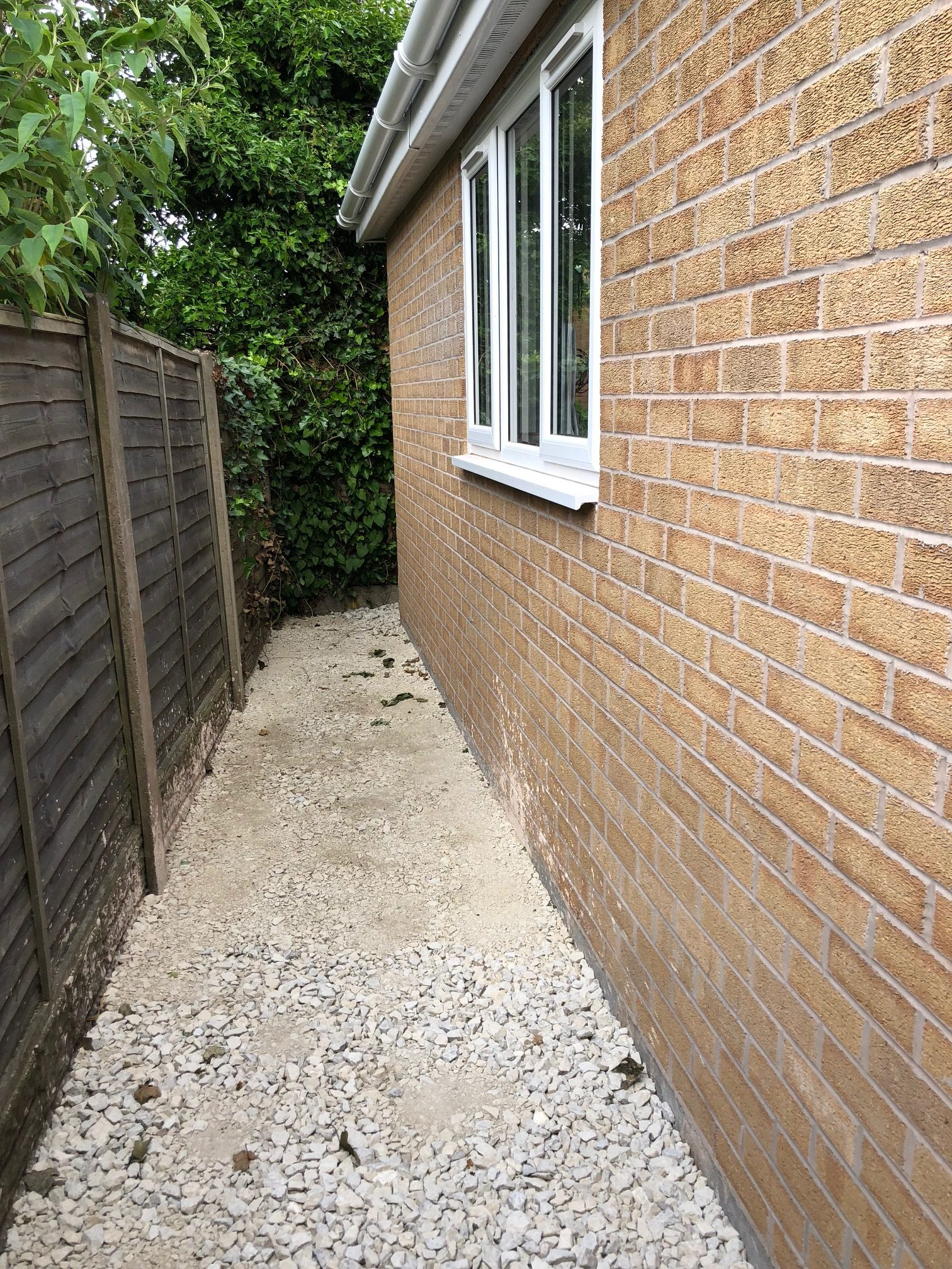 side of new extension my dentist formby